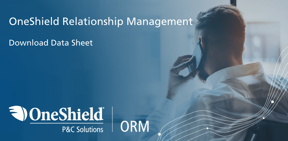 OneShield ORM  P&C Solution